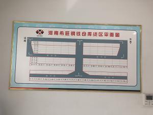 仓库货区平面图